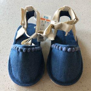 Toddler Denim Sandals